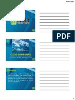 Cloud Computing e Cloud Storage