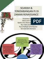 Sejarah & an Pj Di Zaman Renaissance