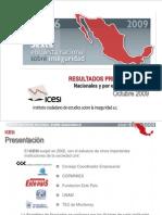Encuesta Nacional sobre Inseguridad 2010