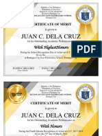 Award Certificates (ctto)