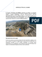 Fuentes de Energia Alternativa HIDROELÉCTRICA EL QUIMBO