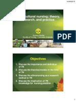 4. Transkultural Nursing Teori, Penelitian Dan Praktek-1