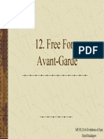 11 Free Form Avant-Garde