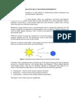 Radiation Heat Transfer Experiment