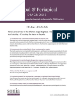 Pulpal Periapical Diagnosis