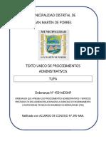 D.S.N° 031-2018-PCM-SUT