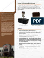 130-10 - Model 800 Viscometer - Brochure