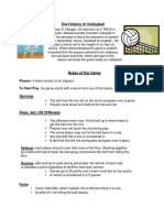 The History of Volleyball project.docx