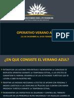 La Policía Nacional presentó los datos recogidos tras el cierre del operativo Verano Azul