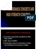 High-performance Concrete And