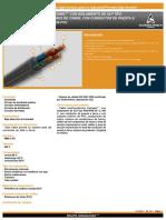 catalogo de cables condumex