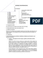 Informe Psicopedagogico Anjhely Carranza