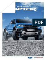 The FORD RANGER RAPTOR Brochure