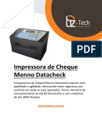 Manual Impressora Datacheck Menno