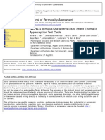 62910_Journal of Personality Assessment Volume 96 Issue 3 2014 [Doi 10.1080%2F00223891.2013.823440] Stein, Michelle B._ Slavin-Mulford, Jenelle_ Siefert, Caleb J._ -- SCORS–G Stimulus Characteristics of Sel (1)