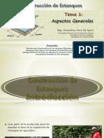 Tema 1_Construcción de Estanques - Aspectos Generales