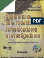 SUGERENCIAS PARA REACTORES, COMUNICADORES E INVESTIGADORES BARRERA.pdf