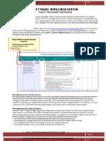 Software Implementation Audit Program Overview