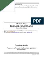AII Marocetude.com Circuits Electriques Resume de Theorie 3