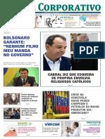 Jornal Corporativo número_3064 de 07 e 08 de março de 2019