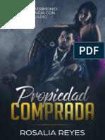 Propiedad Comprada- Rosalia Reyes