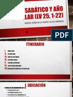 Año sabático y año jubilar (Lv 25.pptx