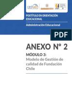 Modelo de Calidad Fundacion Chile