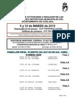 DEPORTE | El DXT de Coslada / 9 y 10 de marzo