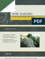 Soil Nailing Final PPT