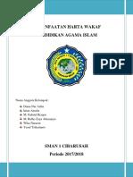 MAKALAH TANAH WAKAF.docx