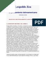 Leopoldo Zea - DIALÉCTICA DEL PENSAMIENTO LATINOAMERICANO.docx