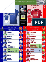 Premier League week 29 190303 Everton - Liverpool 0-0