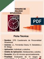 CPS Descripción de Las Escalas
