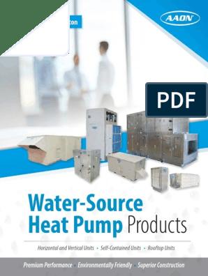 Water-Source Heat Pump Products   Heat Pump   Hvac on