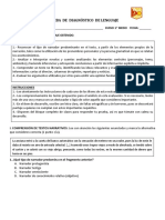 Evaluacción Diagnóstica 2° Medio  Lenguaje.docx