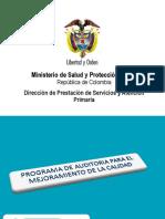 2. Promgrama de Auditoría Para El Mejoramiento de La Calidad (PAMEC)