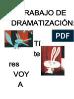 Trabajo Dramatizacion Voy a Comedte