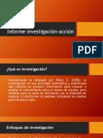 Informe Investigación Acción