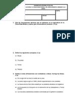 Examen Tema 4 2º Eso