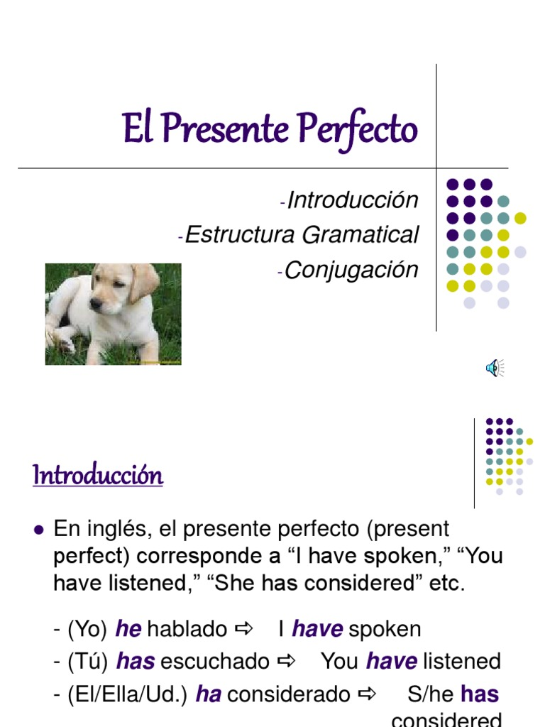 Present Perfect Ppt Ppt