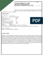 Design of Intake Stoplog R0