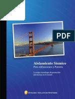Brochure Aisladores Sísmicos - DIS