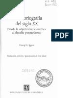 Iggers. Historiografia Del Siglo XX