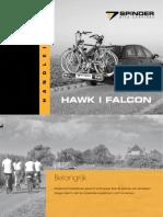 Handle i Ding Ens Pinder Hawk Falcon