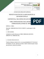Memoria de Cálculo- Lumbrera de 6m en Chimalhuacan