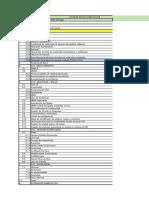 Índice de Dossier de Documentación TESUR3a