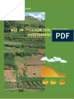Use of 137Cs for soil erosion assessment FAO