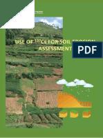 Use of 137Cs for soil erosion assessment FAO