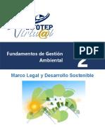 unidad 2 -marco legal y desarrollo sostenible en RD