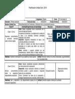 Planificacion Unidad CERO de Ingles 8vo Basico